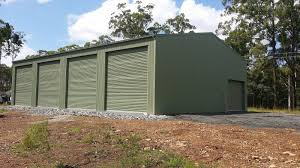 Design Garages West Gosford A Shed Built Purposely For Farm Machinery Storage With