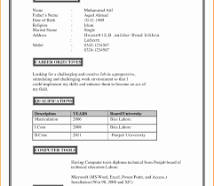 Example Of A Personal Profile On A Resume Singular Personal Profile Format In Resume Templates Examples For 19