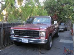 chevrolet C20 Pickup Truck - 3/4 ton 454 91,100 Miles TH400 Chevy GMC