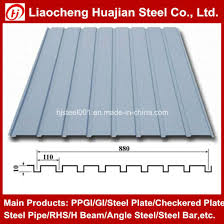 galvanized corrugated roofing steel sheets used for roofing material