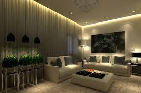 modern dark room great design of ceilings In the living room