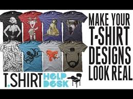 To Make Shirts How To Make Your T Shirt Designs Look Realistic Tutorial