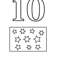 Small Picture Number The Stars Coloring Pages Coloring Pages