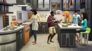 Sims 3 Kitchen Aznsenseis Sims 4 Reviews The Sims 4 Cool Kitchen Stuff Pack Review