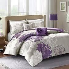 shams purple fl bedroom pillows