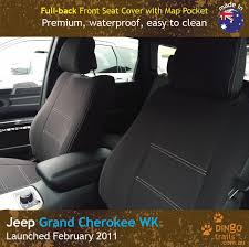 custom fit waterproof neoprene jeep grand cherokee full back front seat covers
