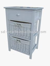 Wicker Basket Cabinet White Wood Wicker Basket Drawers White Wood Wicker Basket Drawers
