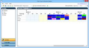 Scheduel Maker Download Free Class Schedule Maker 1 0 0 0