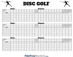 Golf Score Card Template Golf Scorecards Printable Rome Fontanacountryinn Com