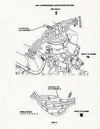 5 0l induction crossfire info sticky ford bronco forum refer to the following procedures for inspection of spark plug wire routing and firing order proerly reroute the spark plug wires if required