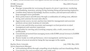 Retail Resume Samples – Amere