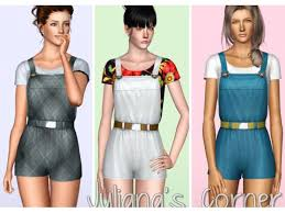 Full Bloom - Outfit by Juliana - The Sims 3 Download - SimsDomination