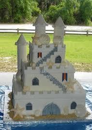Sand Castle Wedding Cake The Cake Process By Brandi Chavez