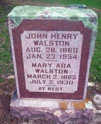 Mary Ada Carroll Walston (1865-1930) - Find A Grave Memorial