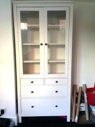 ikea glass case detolf glass door cabinet dimensions white