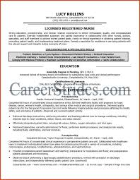 Cover Letter Examples Of Rn Resumes Free Examples Of Rn Resumes