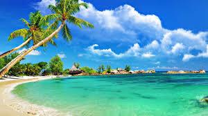 karon beach beautiful panorama
