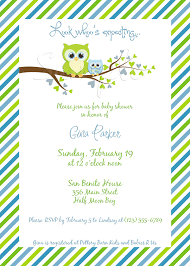 Owl Baby Shower  Request A Custom Order And Have Something Made Owl Baby Shower Invitations For Boy