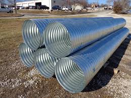 Cmp Pipe Size Chart Corrugated Metal Pipe Metal Culverts