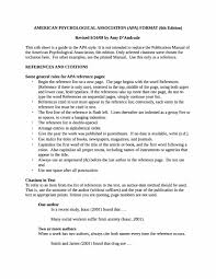 Research Paper Reference Page Apa Format Example Of Title