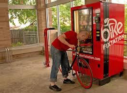 Bike Repair Vending Machine Best SelfService Bicycle Vending Machine Damn Cool Pictures