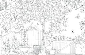 Secret Garden Colouring Pages Printable Night Printables Fairy
