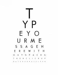 Faa Near Vision Acuity Chart Free Snellen Eye Chart A3 Right Printable Eye Charts