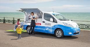Nissan's zero-emissions <b>ice cream</b> truck gets rid of the ICE ...