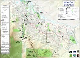 ashland trails map ashland oregon \u2022 mappery Ashland Map fullsize ashland trails map ashland maplewood