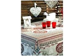 french country tablecloth winter tablecloths by kitchen table linens inch round oval style