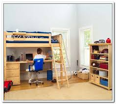 charleston storage loft bed with desk