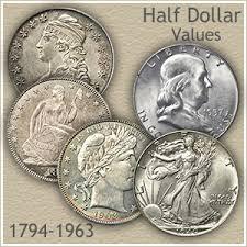 Half Dollar Value On The Move