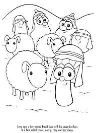 Small Picture Fancy Veggie Tales Coloring Pages 71 For Your Coloring Print with