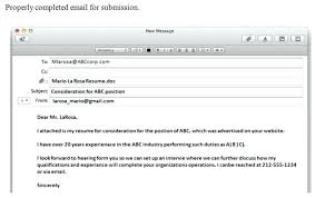 How To Email A Resume Interesting Follow Up Email After Sending Resumes Holaklonecco