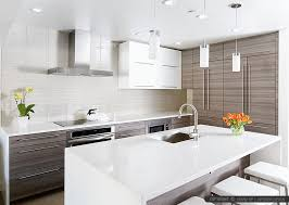 Exellent Modern Kitchen Tile Backsplash Ideas White Glass Subway To Decor