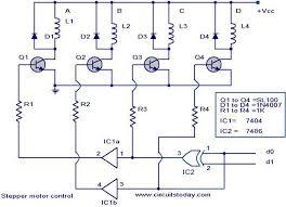 stepper motor controller driver circuit circuit design stepper motor control circuit jpg