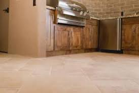 E The Grout Between Kitchen Tiles Can Become Discolored From Grease
