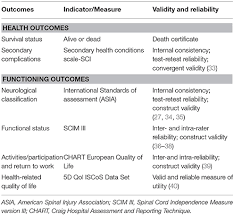 Spinal Cord Injury Chart Frontiers Strengthening Health Systems For Persons With