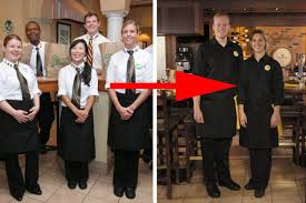 olive garden unveils modern uniforms servers rejoice eater