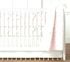 stars baby bedding pink organic tered moon and crib sun b