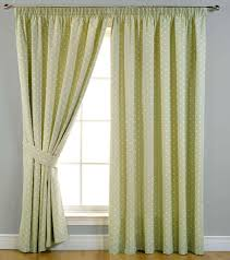 dotty pencil pleat ready made blackout curtains fully