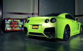 Free download Download Nissan GTR Green ...