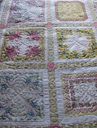 vintage handkerchief quilt | Wild Onion & Even the back of the quilt is pretty: Adamdwight.com