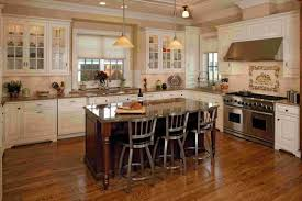 Antique White Kitchen Island Antique White Kitchen Cabinets With Dark Island Ideas