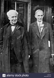 henry ford with thomas edison. Unique Ford Thomas Alva Edison And Henry Ford 1927  Stock Image Inside Ford With D