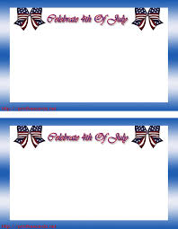 free july 4th printable party invitations templates