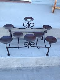 pretty black iron candle holder by fireplace candelabra for home accessories ideas