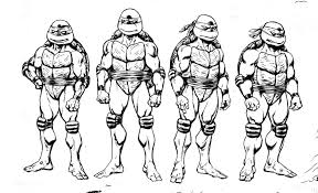 Small Picture Pictures Of Teenage Mutant Ninja Turtles Colouring Pages Coloring