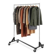 Commercial Coat Racks On Wheels Awesome Spacious Commercial Garment Rack Buy Racks From Bed Bath Beyond
