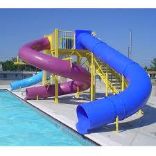 whole le quality fiberglass children outdoor pool amusement equipment water slide for latvia factories